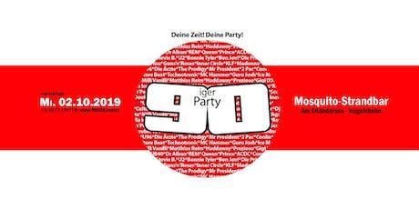 90iger Party vor dem Feiertag am Erländersee Tickets