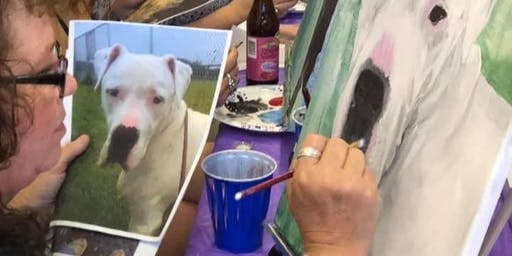 Paint-Your-Pet Party! Fundraiser for Harrisburg's Great Dog Program, Inc