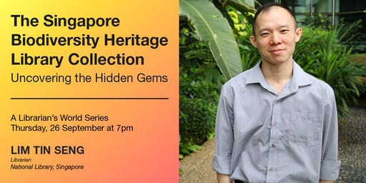 A Librarian's World – The Singapore Biodiversity Heritage Library Collection