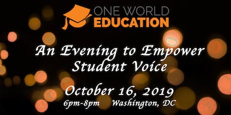An Evening to Empower Student Voice tickets