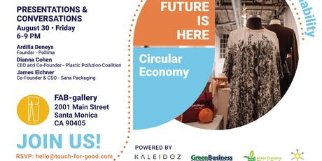 The Future Is Now: Circular Economy tickets
