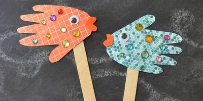 Fish Puppets @ Chingford Library