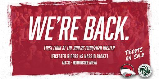 Leicester Riders Vs Nassjo Basket