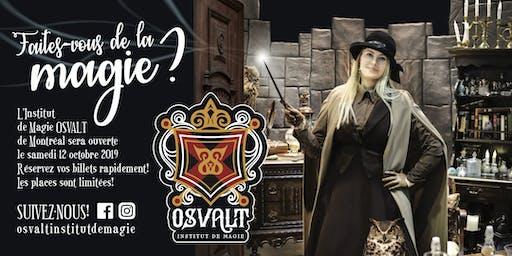 OSVALT - INSTITUT DE MAGIE - Samedi 12 octobre 2019
