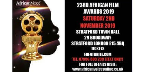 African Film Awards 2019 (23rd AFA) tickets