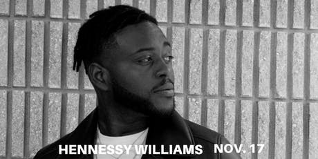Hennessy Williams Experience Free Ticket Seat Fillers tickets