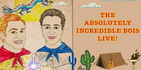 The Absolutely Incredible Bois: Live!; A Staged Musical Reading tickets
