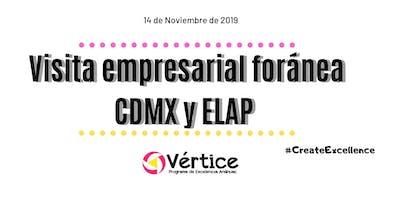 Visita empresarial foránea CDMX y ELAP