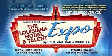 Louisiana Model & Talent Expo tickets