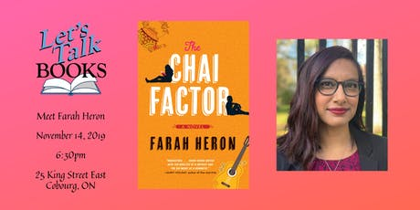 Farah Heron - Author Visit tickets