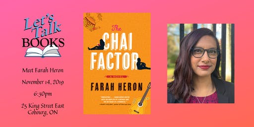 Farah Heron - Author Visit