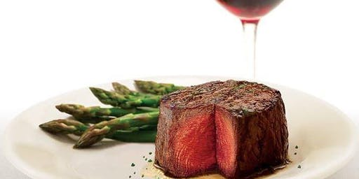 RUTH'S CHRIS STEAK HOUSE PRIVATE WINE PAIRING DINNER FOR BF WINE CLUB