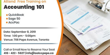 Accounting 101 Training tickets