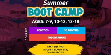 Kids' Summer Camp tickets