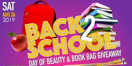 Hair2Help - Back to School Day of Beauty tickets