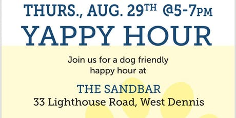 Sandbar Yappy Hour August tickets