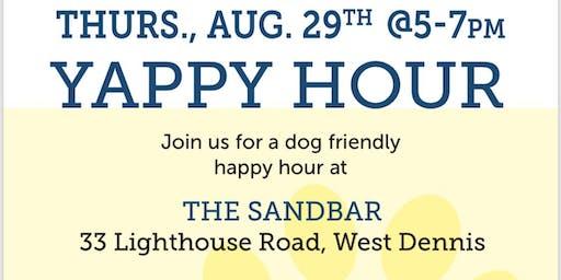 Sandbar Yappy Hour August