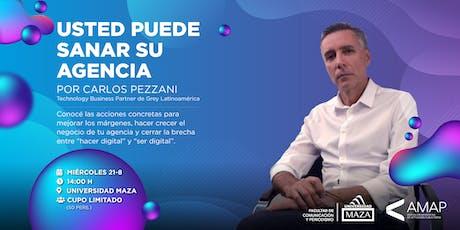 Carlos Pezzani - Usted puede sanar su agencia entradas