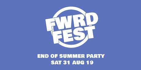 FWRD Fest tickets