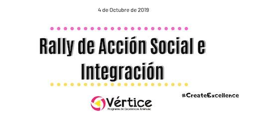 Rally de Acción Social e Integración