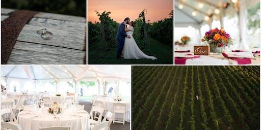 Flag Hill Distillery & Winery Wedding Showcase & Chef's Tasting FALL  2019