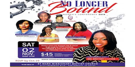Charis Ministries: No Longer Bound Women's Conference 2019  tickets