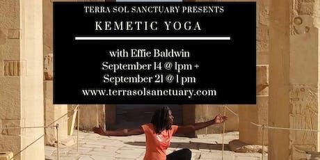 Kemetic Yoga tickets
