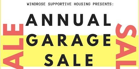 Windrose Garage Sale Fundraiser tickets