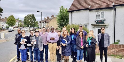 Young Conservatives Train & Campaign Session