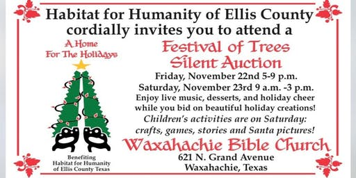 Festival of Trees  benefiting Habitat for Humanity of Ellis County Texas