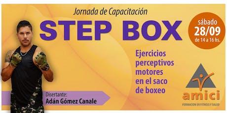 Jornada de capacitación en STEP BOX entradas