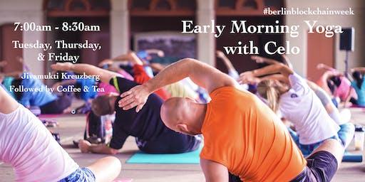 Early Morning Yoga + Coffee & Tea with Celo
