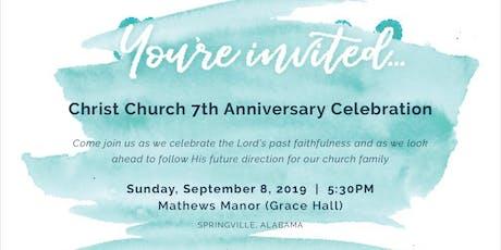Christ Church Trussville - 7th Anniversary Banquet tickets