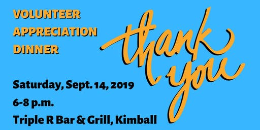 Lake Association Volunteer Appreciation Dinner