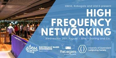 UQCS, EBESS & Robogals High Frequency Networking
