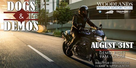 Dogs & Demos at Woodlands Premium Motorcycles tickets