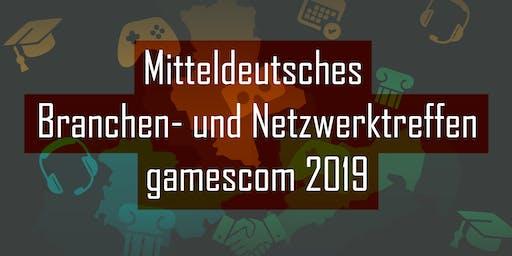 Mitteldeutsches Branchen- und Netzwerktreffen zur gamescom 2019