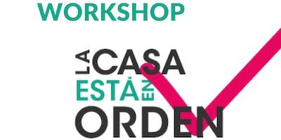 """Workshop """"La casa está en orden"""" - Método Marie Kondo"""