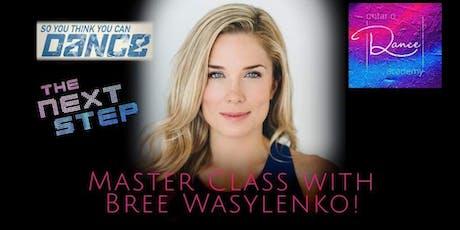 Master Class with Bree Wasylenko tickets