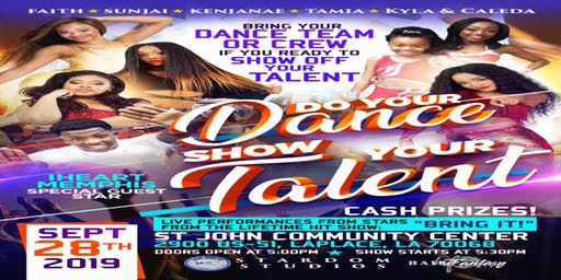 DO YOUR DANCE SHOW YOUR TALENT EVENT