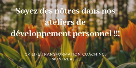 Atelier: Developpement Personnel tickets