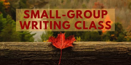 Small group writing class, Ogden tickets
