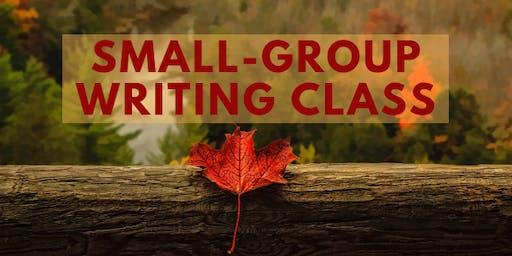 Small group writing class, Ogden