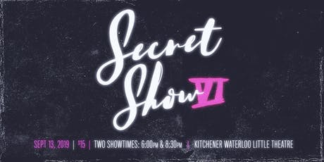Secret Show VI: Magicians, Mind Readers & Variety Acts tickets