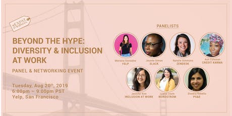 Beyond the Hype: Diversity and Inclusion at Work Panel and Networking event tickets