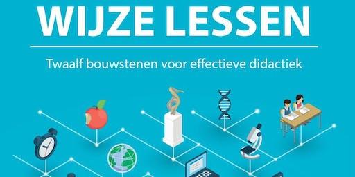 Boekvoorstelling Wijze Lessen  - Thomas More Hogeschool Campus De Vest