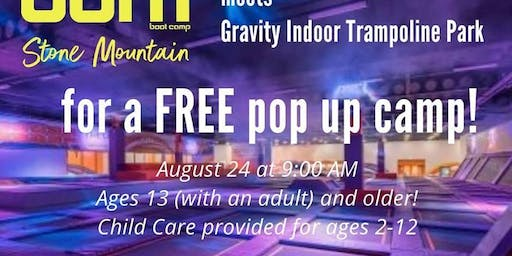 Free Workout at Gravity Trampoline Park