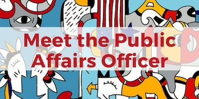MEETING CON EL PUBLIC AFFAIRS OFFICER DE LA EMBAJADA de EEUU