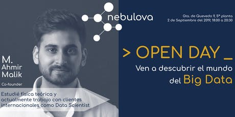 Open Day Nebulova tickets