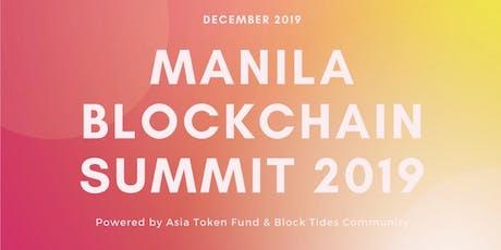 Manila Blockchain Summit 2019 tickets